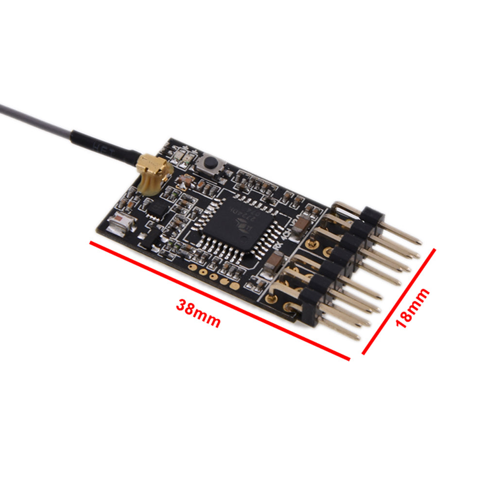 AGFRC RFSS04S 4CH Receiver Futaba Compatible S-FHSS / T3PV