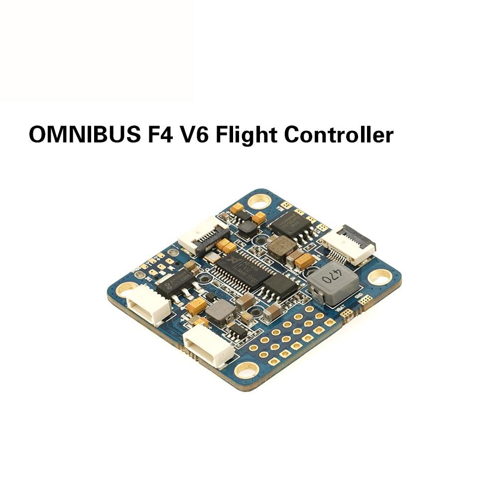 OMNIBUS AIO F4 V6 Flight Controller for FPV Racing Drone, FPV Quadcopter - 5 x UARTs