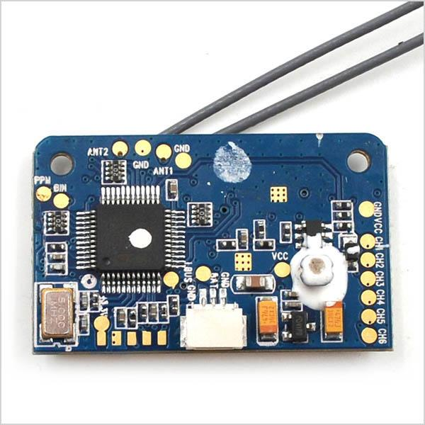 Flysky 6-18 Channels Receiver X6b i-Bus PPM PWM Output, for Flysky i10, i6, i6S, i6x, i4, i4x Radio Transmitter