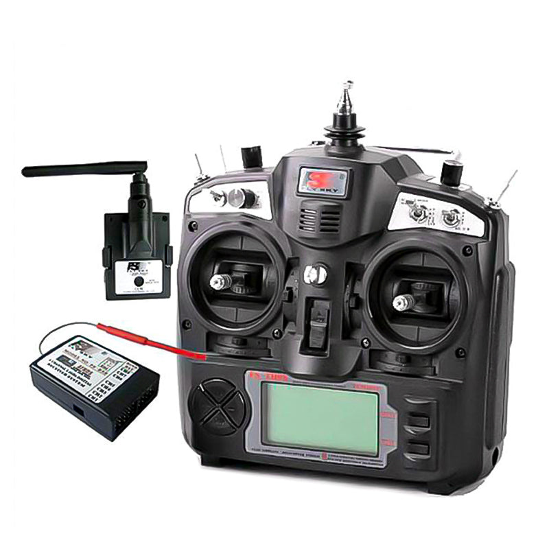 Flysky 9 Channel Radio Transmitter FS-TH9x 2.4GHz for Rc Helicopter, Rc Airplane, Fpv Drone