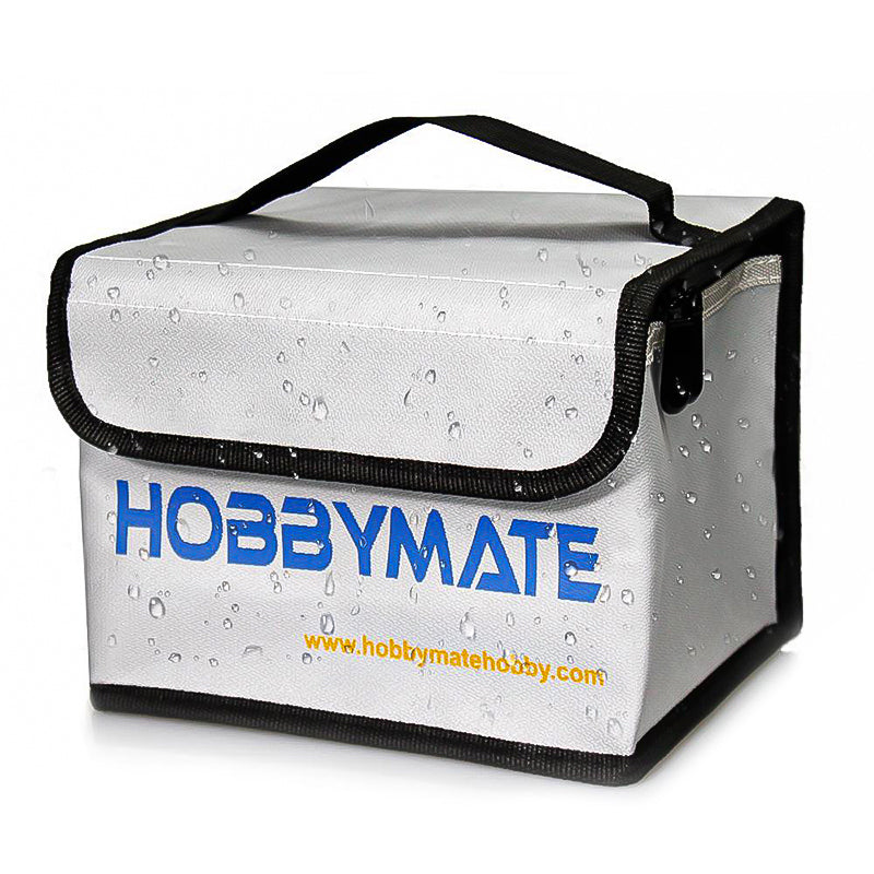 Hobbymate Lipo Safe Bag Fireproof - for Lipo Battery Charging, Lipo Storage, Travel Carrying Case