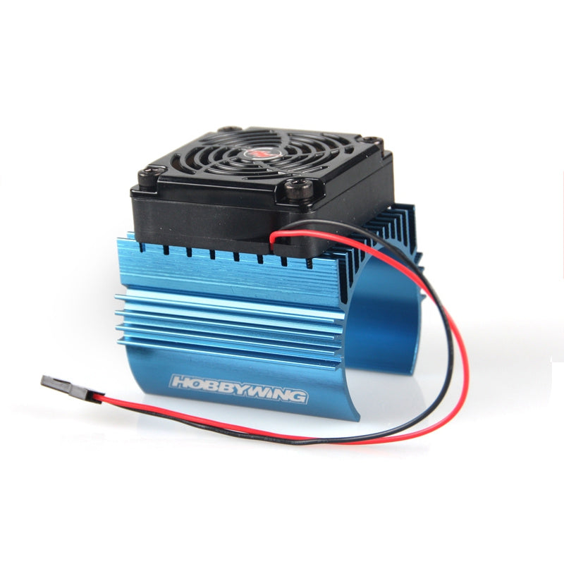 Hobbywing 1:10 RC Car Heat Sink With 5V Cooling Fan For 3660 3665 3674 Motor