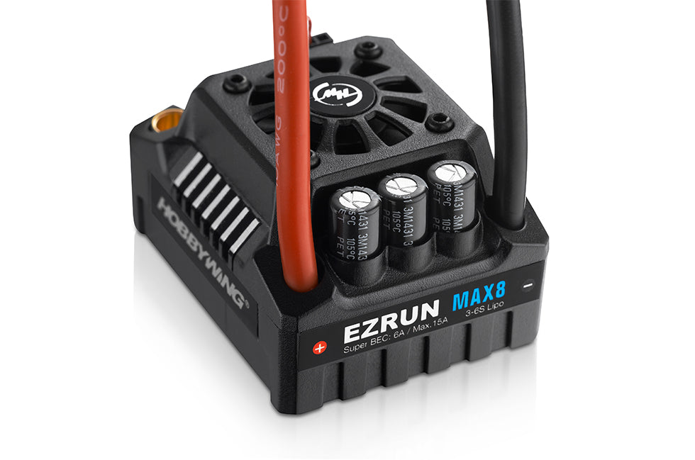 Hobbywing EzRun MAX8 150A ESC 30103200 XT90 Plug for 1/8 RC Car