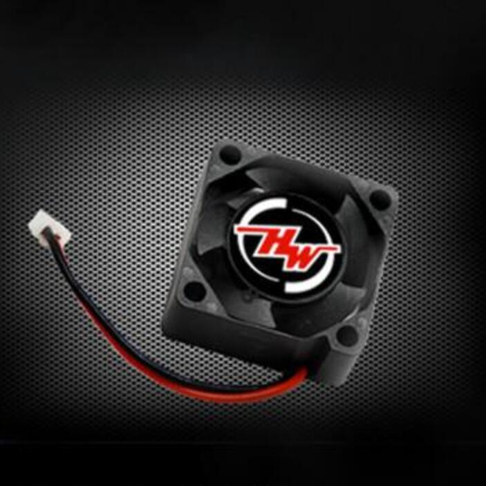 Hobbywing FAN-2510BH-5V-10000RPM@5V-0.10A-BLACK-A Cooling Fan 2510 Serie for RC Cars