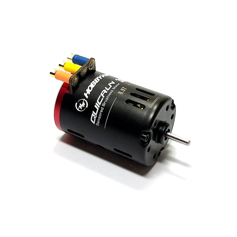 Hobbywing QuicRun 3650 SD Sensored Brushless Motor G2 for 1:10 & 1:12 Cars & Trucks, Buggies (SPORT)