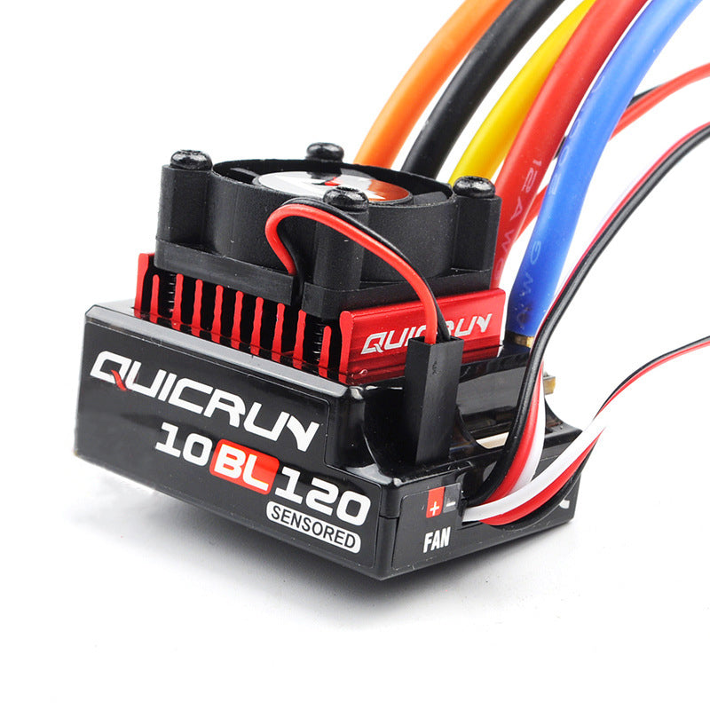 Hobbywing Quicrun 10BL120 120A 10BL60 60A Sensored ESC for RC 1/10 Truck Drift Monster Car