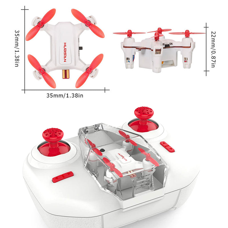 Hubsan H001 NANO Q4 SE Super Micro Pocket Drone 2.4G 4CH 6-Axis Gyro RC Quadcopter Headless Mode 3D Flip RTF