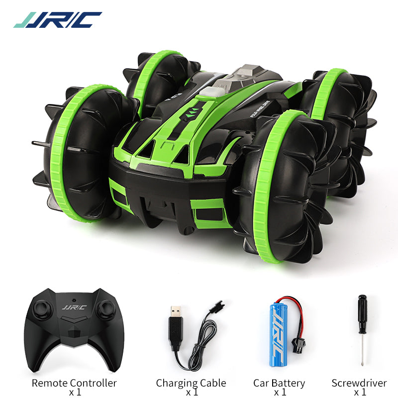 JJRC Q81 1:20 2.4G 2-in-1 Double-Sided Amphibious 360 Degree Rotation RC Vehicle RC Car