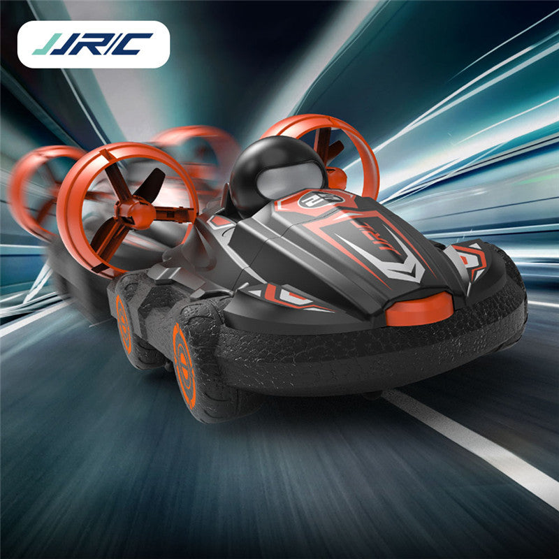 JJRC Q86 2.4G 2 IN 1 Amphibious Drift Car Remote Control Hovercraft Speed Boat RC Stunt Car for Boys Toys Gift