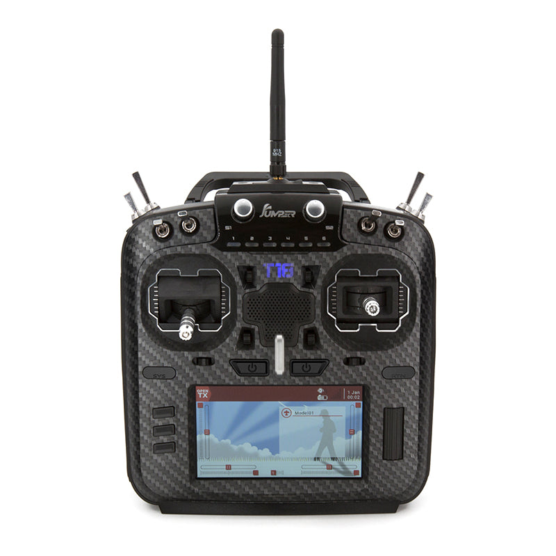 Jumper T18 T18 Pro Hall / Alps Rdc90 Gimbals Remote Controller, Internal Module, Folding Handle, OpenTx Ready