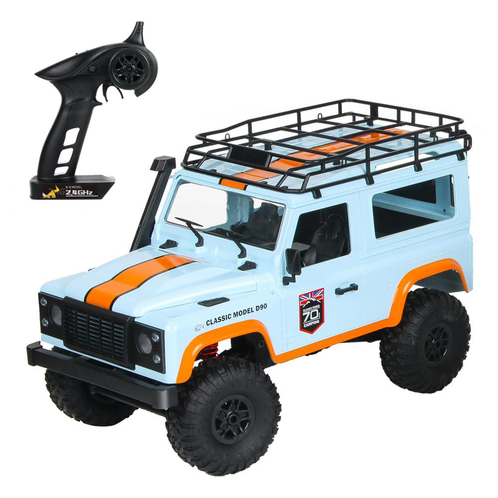 MN99 2.4G 1/12 4WD RTR Crawler RC Car for Land Rover 70 Anniversary Edition Vehicle Model