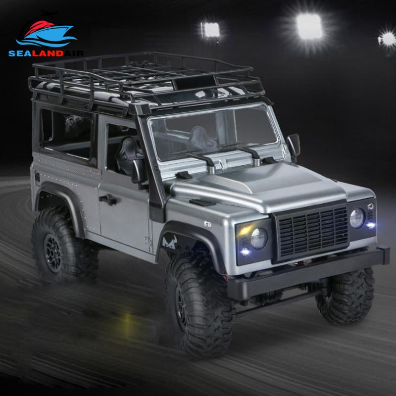 MN99S 4WD RC Car 1/12 Scale Defender Electric Remote Control Car Toy for Boy Gift With LED Lights