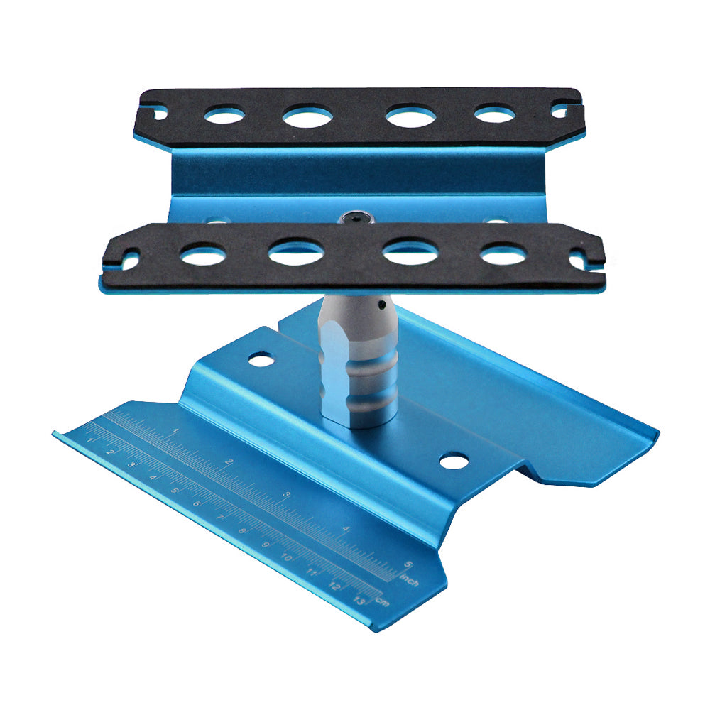 Metal Repair Station Work Stand Assembly Platform for 1/10 1/8 RC Car Crawler
