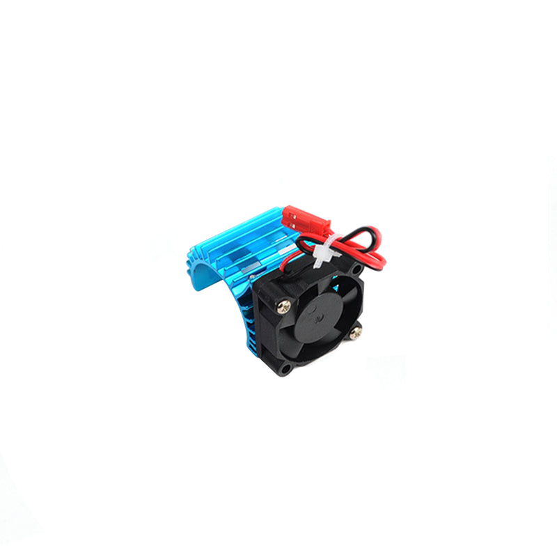 Motor Cooling Heat Sink With Cooling Fan for 1/10 Scale Electric RC Car 380 / 390 Motor Buggy Crawler Kit