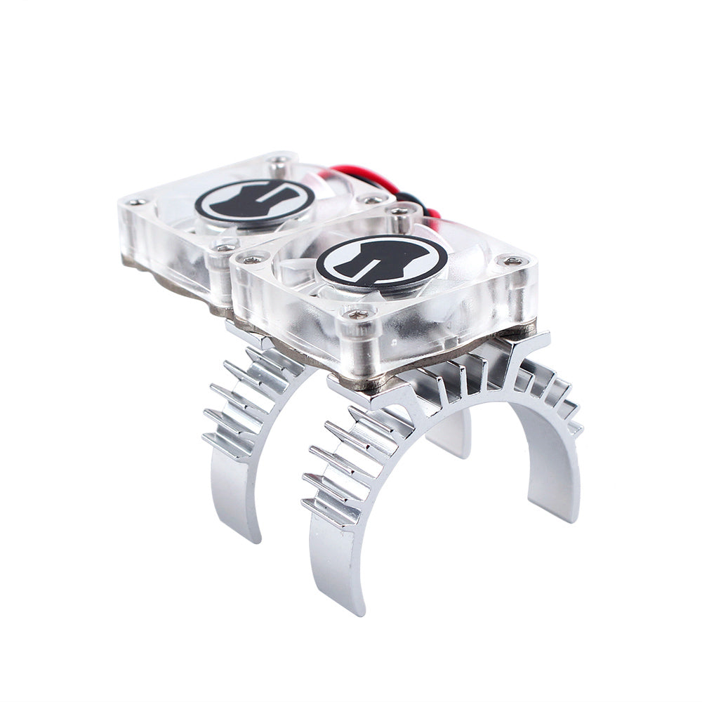 RC Car Motor Heat Sink Cooling Gear Fan for 1:10 RC Crawler Traxxas TRX4 Electric Parts