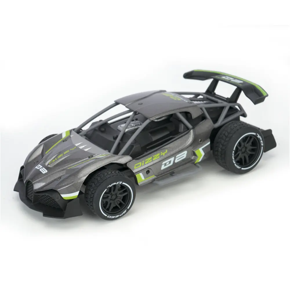 RC Car SL200A 1:16 2WD 360 Degree Driving 15km/h Alloy Crawler Remote Control Racing Drifting Vehicle