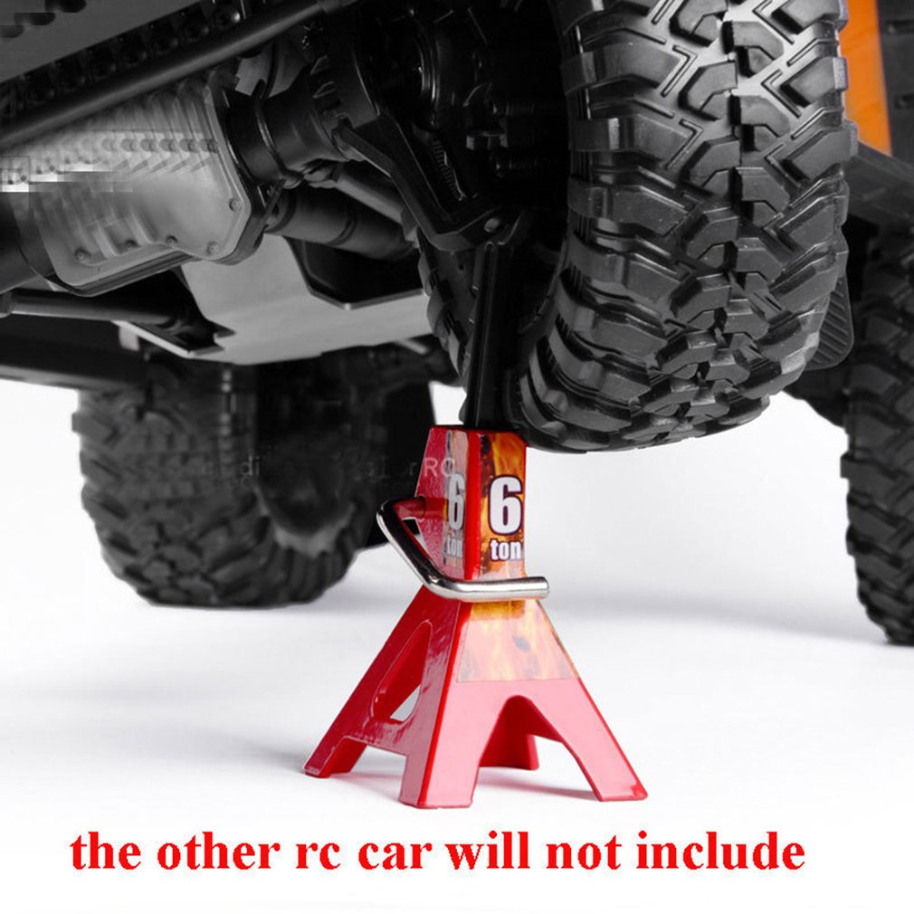 RC Cars Steel 6 Ton Scale Jack Axle Stand Lift Capacity Stand Heavy Duty Support Vehicle
