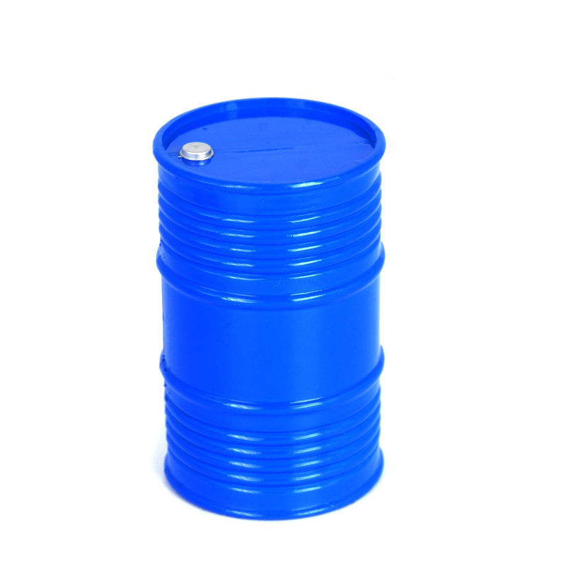 RC Decoration Oil Barrel 9.5 x 6cm DIY Accessory for 1/10 Radio Control Hobby Cars model truck
