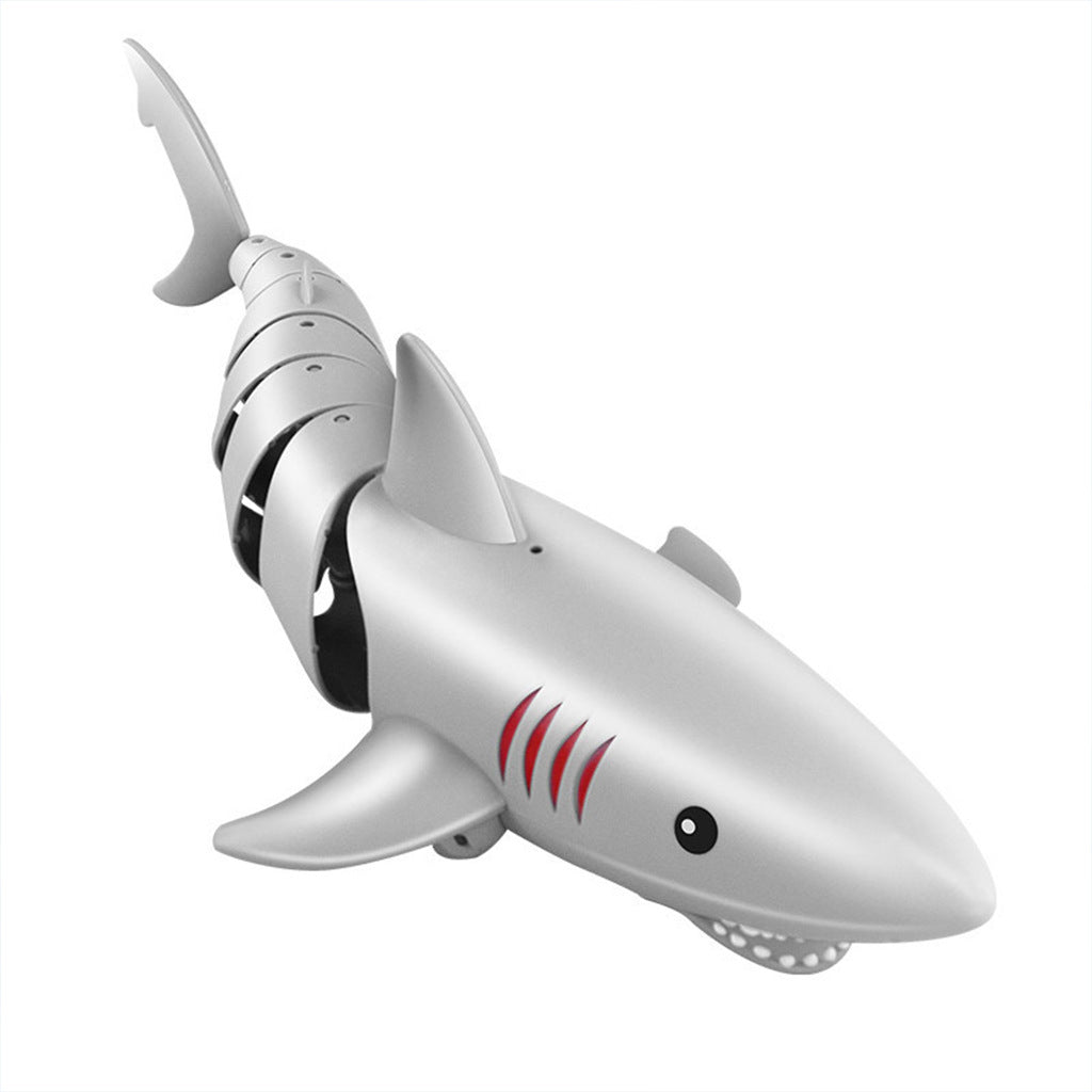 Remote Control K23 Gray Shark 2.4G Electric Simulation RC Fish Rechargeable Battery Children Toys