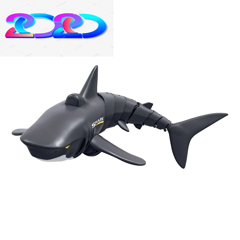 Remote Control Shark 2.4G Electric Simulation RC Fish 20 Minutes Rechargeable Battery Children Toys