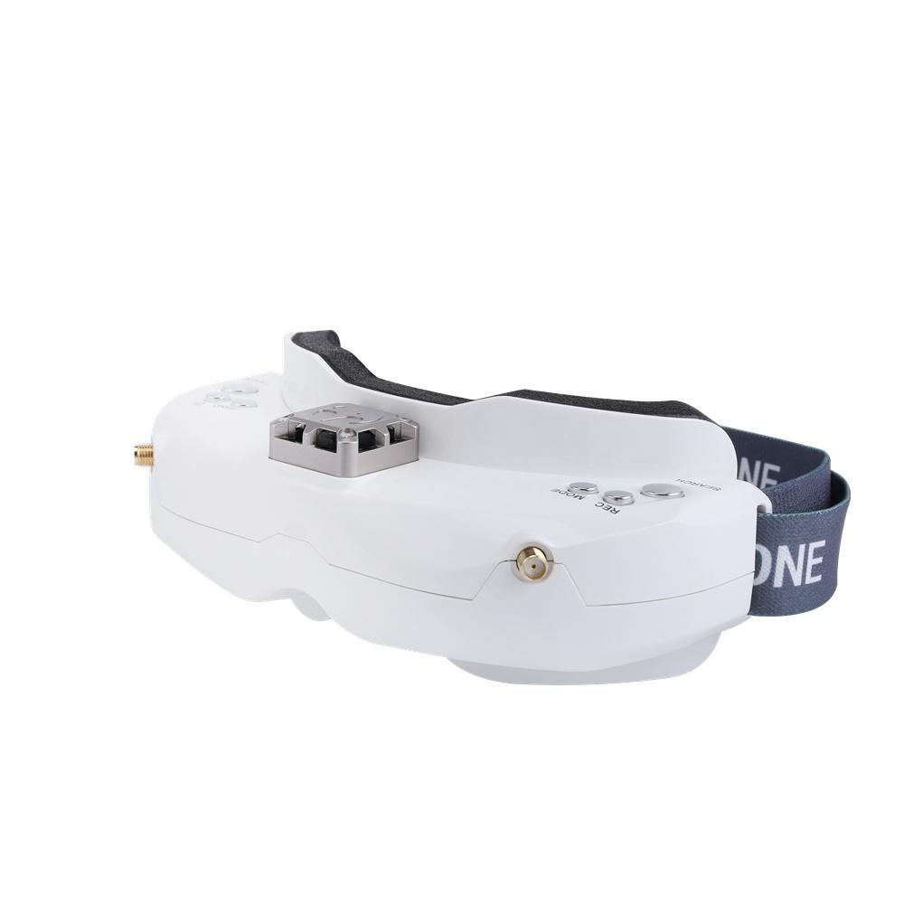 Skyzone SKY02C 5.8Ghz 48 Channels Diversity Fpv Goggles Support Dvr Hdmi With Head Tracker Fan For RC Racing Drone