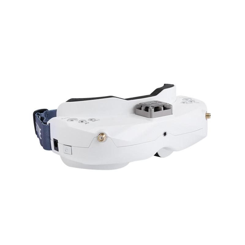 Skyzone SKY02X Fpv Goggles 5.8Ghz 48 Channels Diversity, Support 2D/3D HDMI Head Tracking & Fan DVR w/Front Camera For FPV Drone Quadcopter