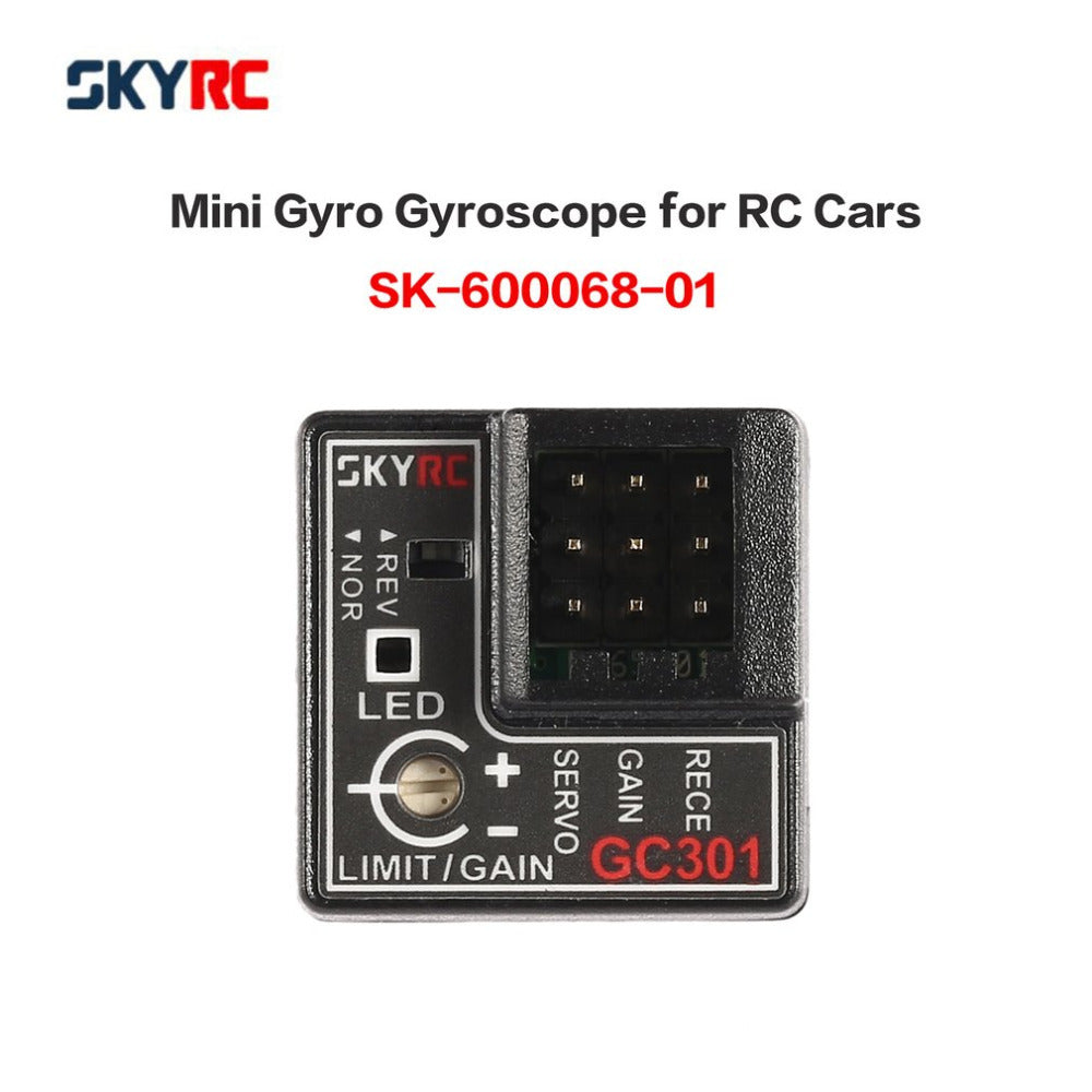 SKYRC GC301 Mini Gyro Gyroscope for RC Car Drift Racing Car Steering Output Integrated Compact Light-weight