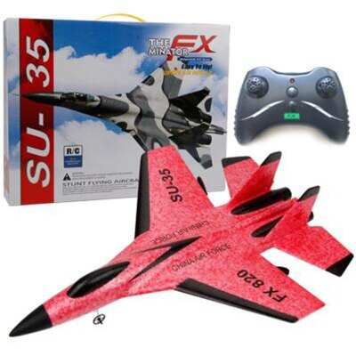 SU-35 RC Fixed-Wing Plane, Remote Control Helicopter Plane Glider Airplane EPP Foam Toys