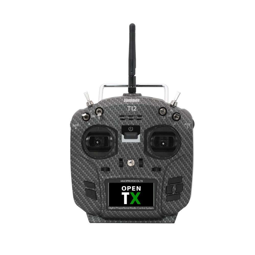 T12 Pro Jumper Hall Gimbals Radio Transmitter OpenTx Ready, w/ Internal Module