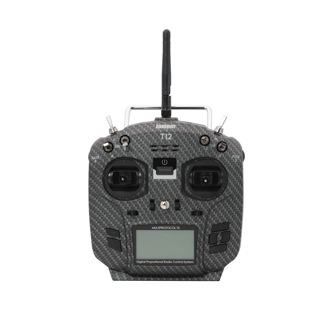 Jumper T12 Pro Hall Gimbals Radio Transmitter OpenTx Ready, w/ Internal Module - Pre-order