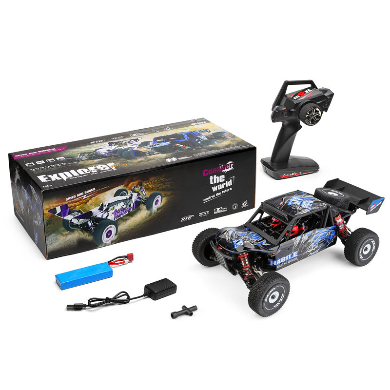 WLtoys 124018 RC Car 60km/h High Speed 1/12 2.4GHz RC Buggy 4WD Racing Off-Road Car RTR
