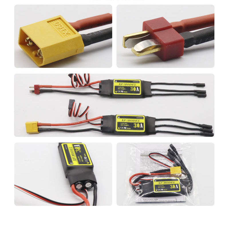 XF30A 30A Brushless ESC T / XT60 Plug For SU27 RC Airplane EPO fixed wing for Rc Quadcopter Drone Model