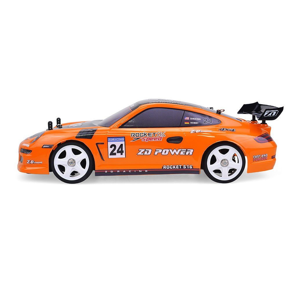 ZD Racing ROCKET S16 1/16 Scale 2.4GHz 4WD RC Car RTR 45 Km/h