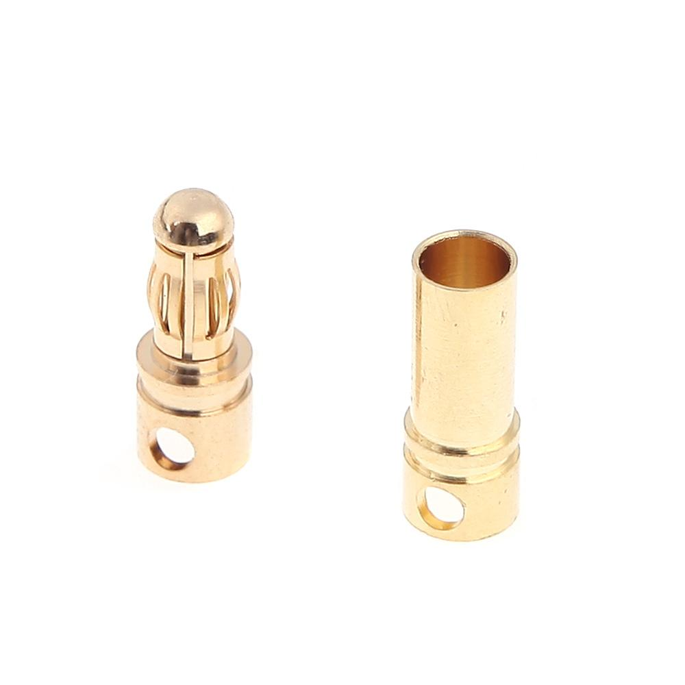 3.5 mm Gold Bullet Banana Connector Plug for ESC Battery Motor - 1 pc