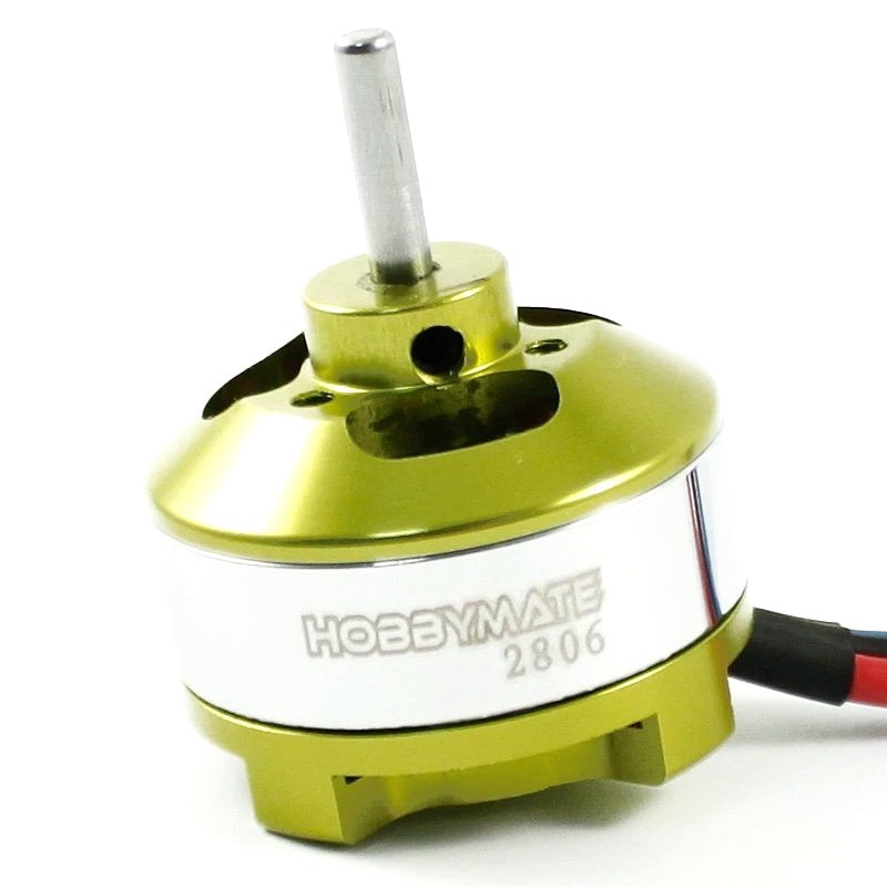 Hobbymate HB2806 Brushless Motor for rc airplane, foam rc airplane, parkflyer