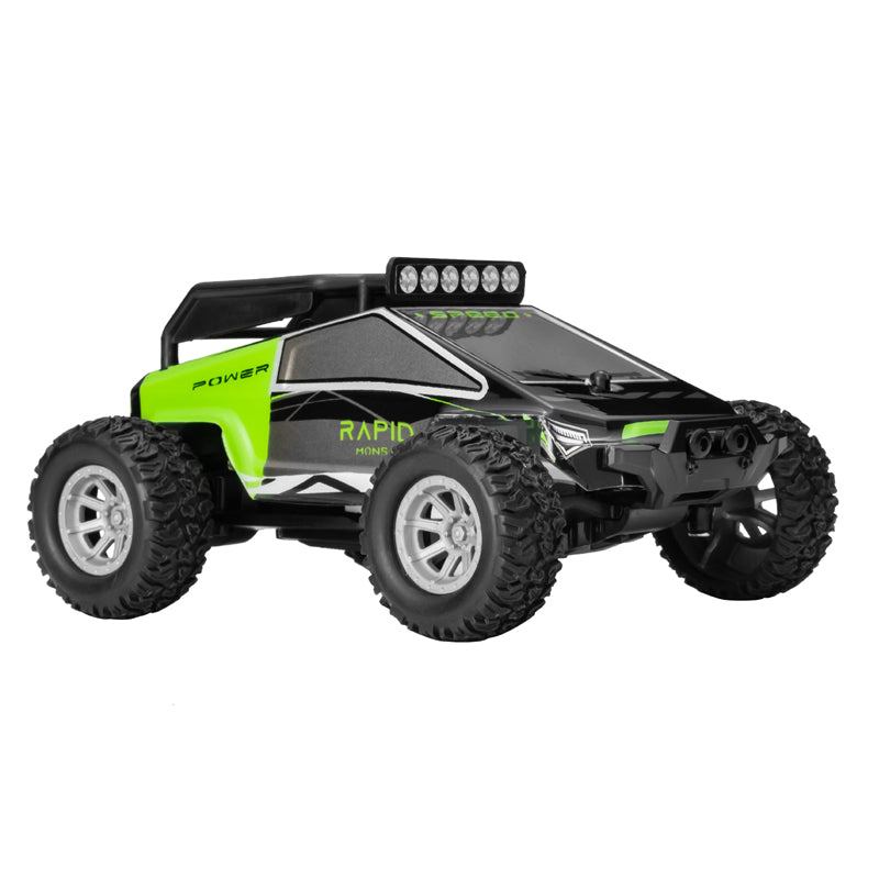 Rc Toy Truck 1:32 Miniature Cybertruck, Battery Operated Mini Remote Control Car for Kids, Ready To Run