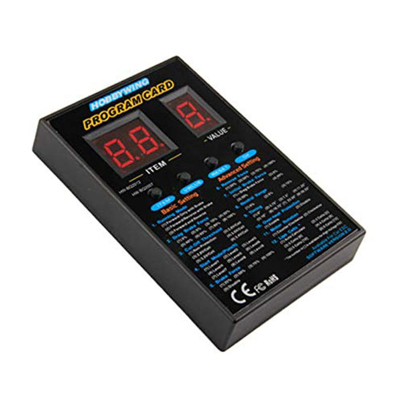 Hobbywing Program Card Led Program Box for Xerun and Ezrun Series Rc Car, Rc Truck and Rc Boat Brushless ESC Speed Controller