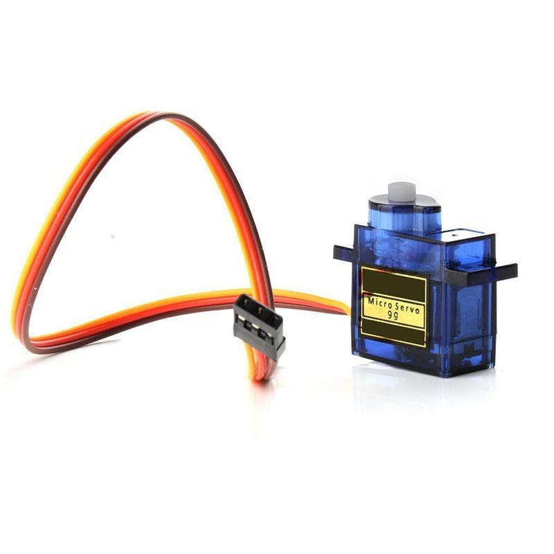 Hobbymate Sg90 9g Mini Servo for RC Robot Arm, Rc Helicopter, Rc Airplane and Rc Cars - 5 Pcs