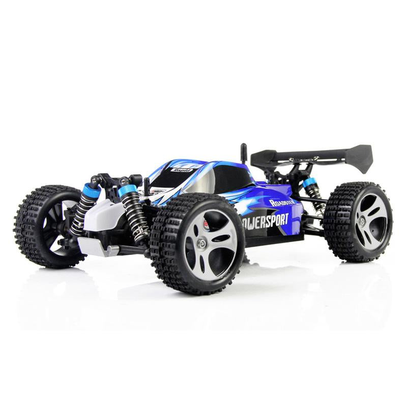 WLtoys A959 2.4G 1/18 4WD 50km/h RC Racing Car High Speed Off-Road RC Car