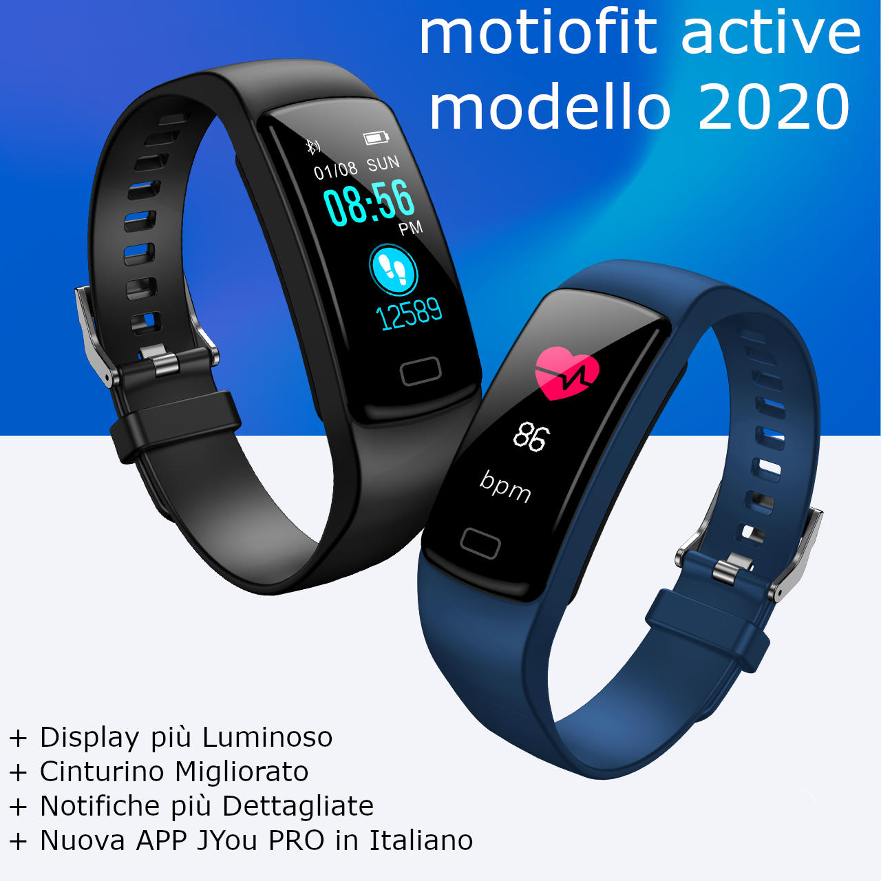 motiofit smartwatch active