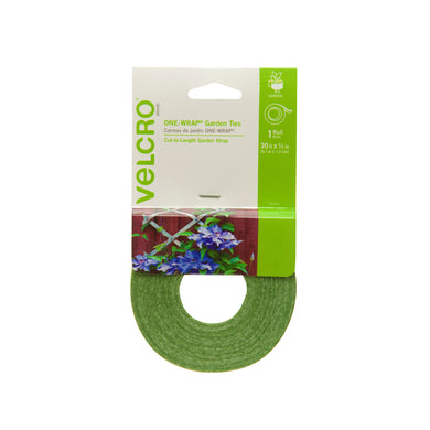 Velcro One-Wrap Garden Ties 30 ft x 1/2 in