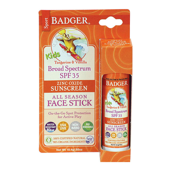 Kids Non-Toxic Sunscreen Face Stick