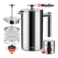 Mueller French Press - Coffee and Tea Press