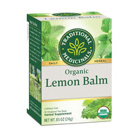 Lemon Balm Organic Tea