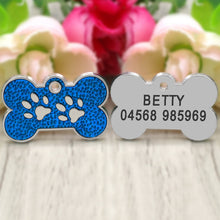"Load image into Gallery viewer, ""Knuckle"" Personalized Pet Tag"