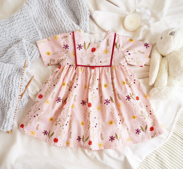 Chamomile Dress in Pink