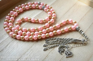 Blush Golds-PersonalizedTasbihs4u