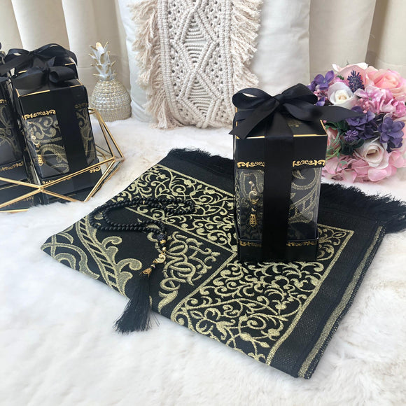 Gift Sets: Prayer Mat & Tasbih [PREORDER FOR SEPTEMBER DELIVERY]