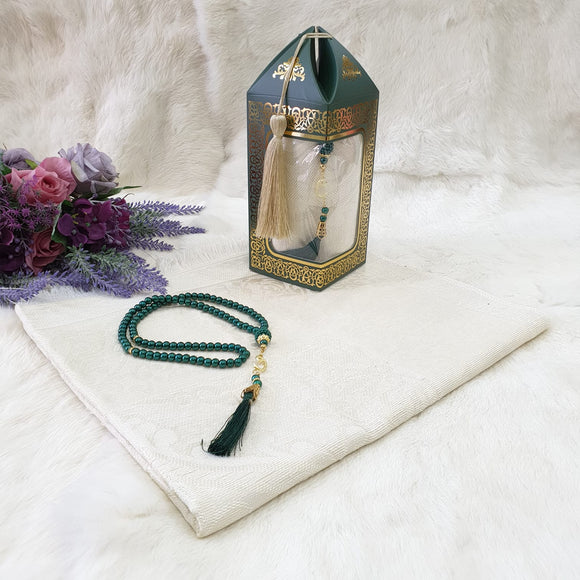 tasbih and prayer mat gift set ramadan