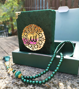 Quran and Tasbih Set - Choose your Colour!
